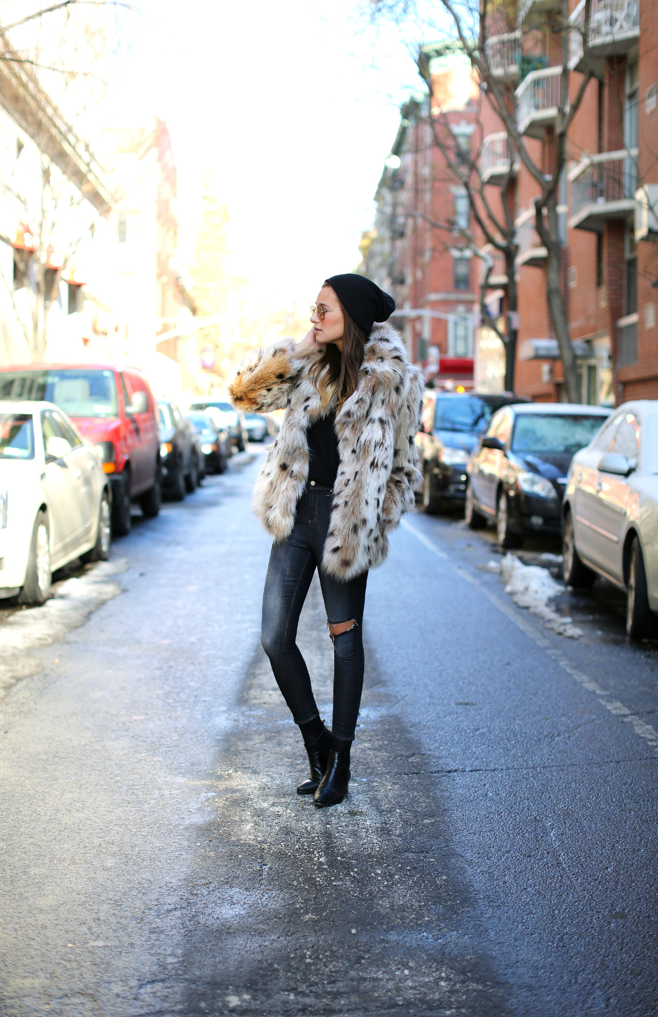 Winter Fashion and my 2014 Style Goal on Squirrelly Minds