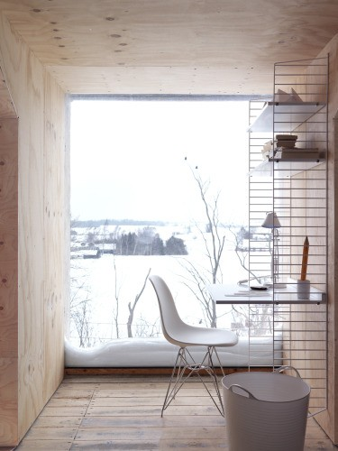 Snowy Spaces on Squirrelly Minds - Office from fine ting og sjokolade