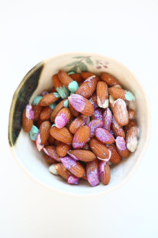 Pixie Dusted Almonds on Squirrelly Minds