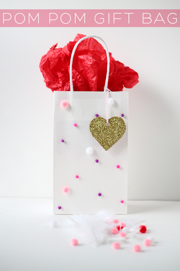 DIY Pom Pom Gift Bag Explosion | Squirrelly Minds