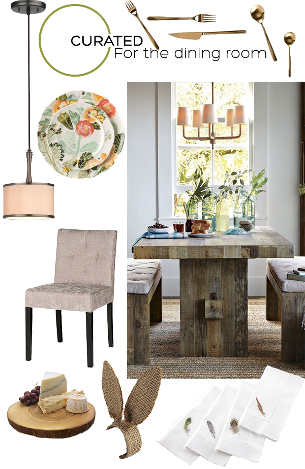 Curated for the Dining Room on Squirrelly Minds