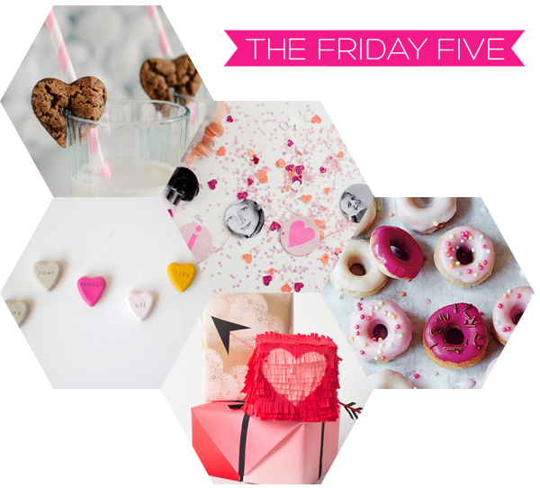 The Friday Five - Valentine's Day on Squirrelly Minds