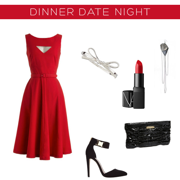 Valentine's Outfits 3 ways - dinner date night | Squirrelly Minds