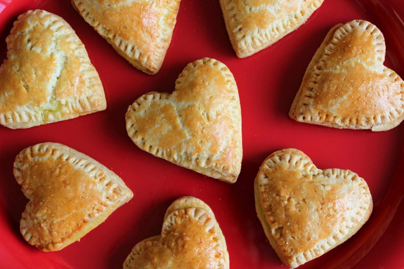 Heart Shaped Cheese Pies by Viva la Vida