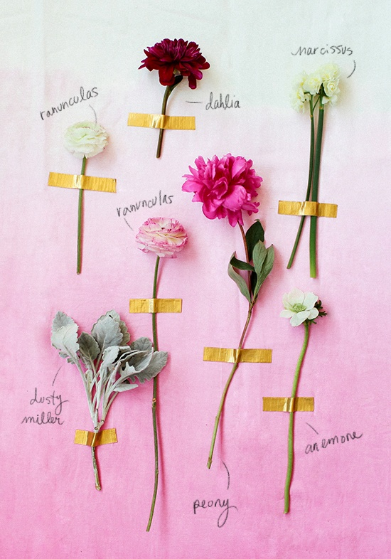 Pinned Via on Squirrelly Minds | Valentine Floral Guide from Design Love Fest