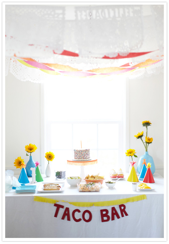 Pinned Via on Squirrelly Minds | Taco Party from 100 Layer Cake