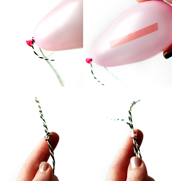 Balloon Gift Bag DIY   Squirrelly Minds