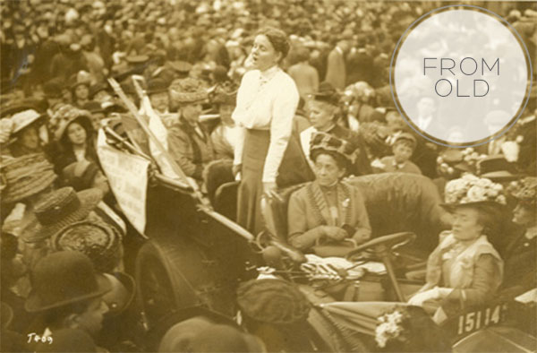 From Old to Now on Squirrelly Minds - The Suffragette Movement