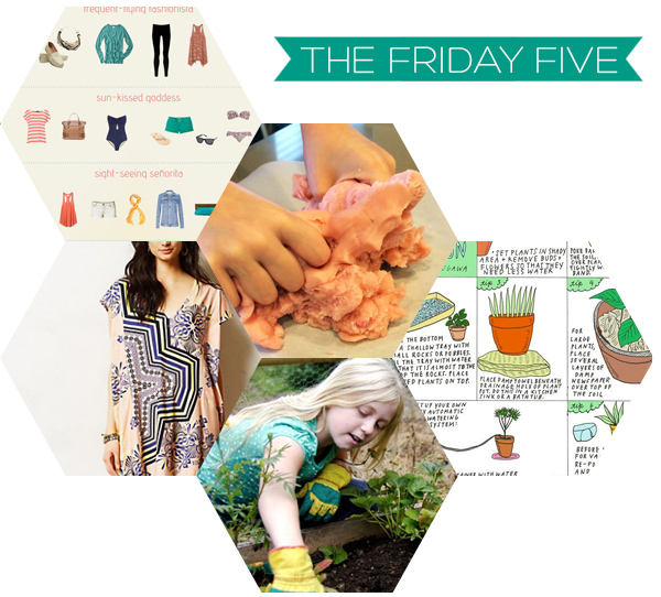 The Friday Five - Spring Break | Squirrelly Minds