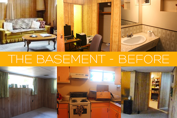 The Basement Renovation - Before pictures | Squirrelly Minds
