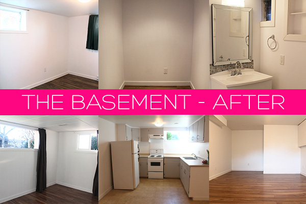 The Basement Renovation - After pictures | Squirrelly Minds