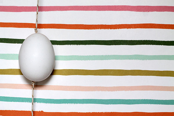 Easter Egg Garland DIY by Squirrelly Minds