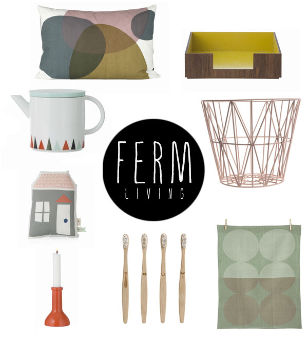 Ferm Living on Squirrelly Minds