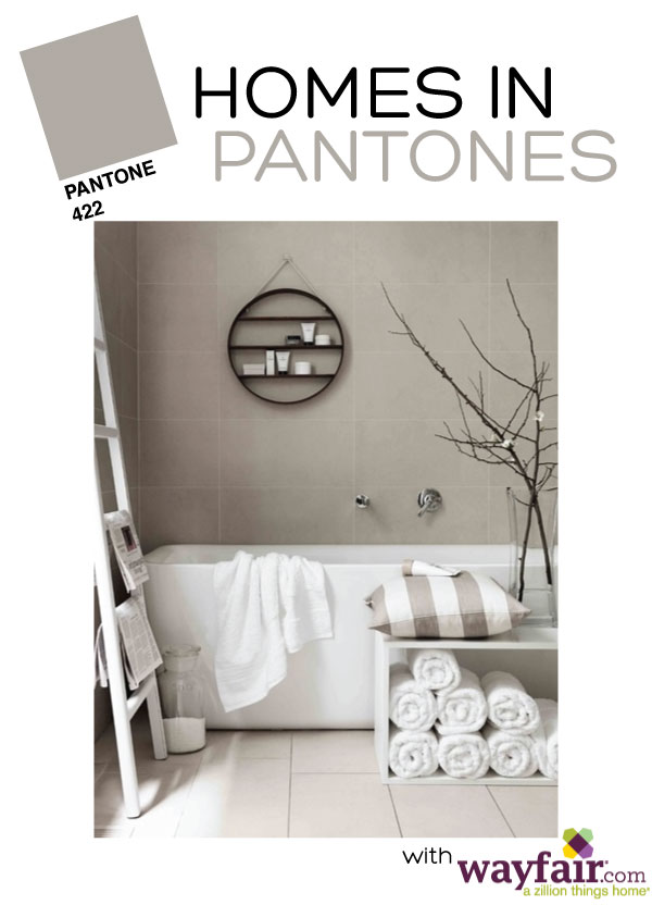 Homes in Pantones - Grey Edition