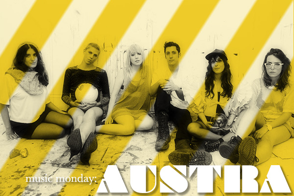 Austra on Music Monday at Squirrelly Minds