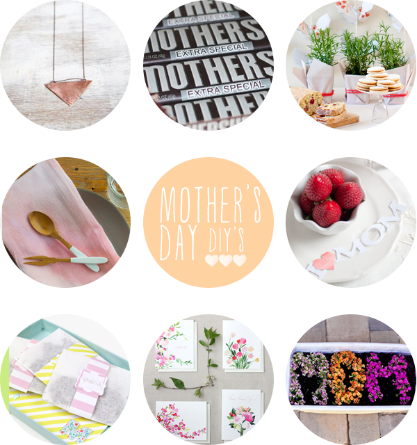 Mother's Day DIY Roundup on Squirrelly Minds