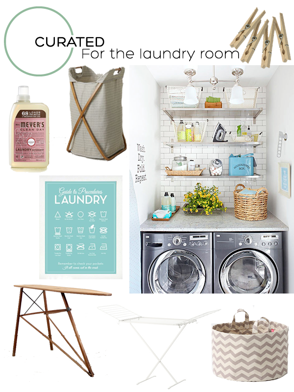 Curated for the Laundry Room on Squirrelly Minds