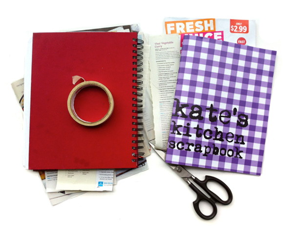 DIY Recipe Scrapbook with Kate J on Squirrelly Minds