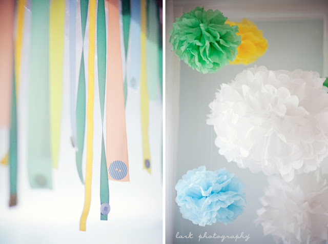 Baby Shower Inspiration - Decor from The Lovely Cupboard
