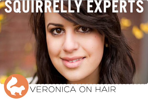 Squirrelly Experts - Veronica on Hair
