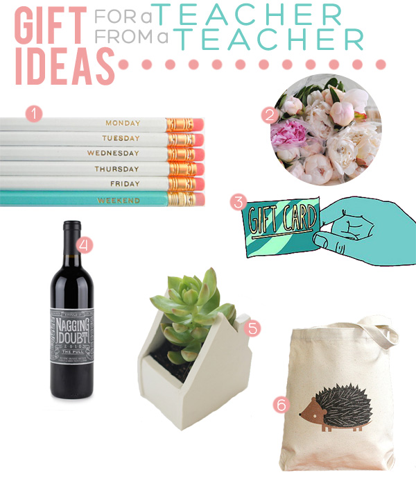 Gift Inspiration for Teacher on Squirrelly Minds