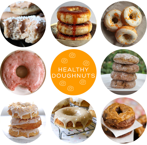 Healthy Doughnuts Roundup on Squirrelly Minds