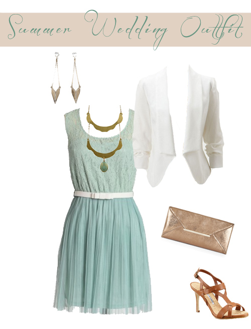 Wedding guest outfit - Squirrelly Minds