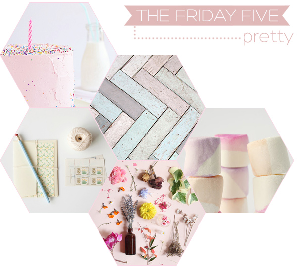 The Friday Five - Pretty | Squirrelly Minds