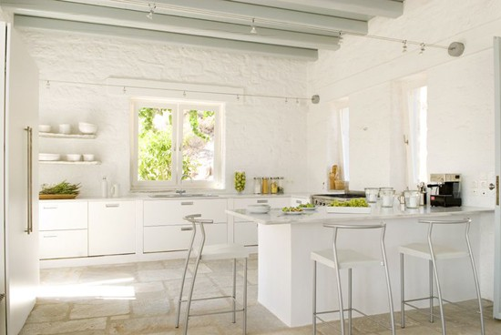 Can you do a kitchen that 39 s 39 too white 39 squirrelly minds - White kitchens pinterest ...