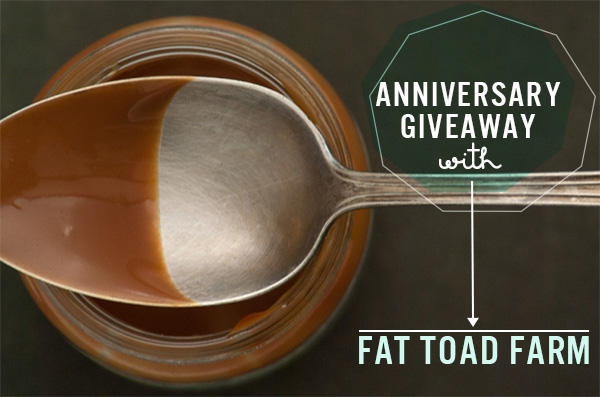 Squirrelly Minds 2nd Anniversary Giveaway - Fat Toad Farm Goat's Milk Caramel