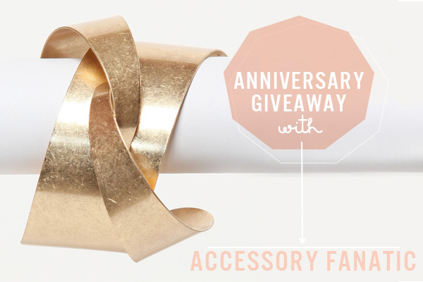 Squirrelly Minds 2nd Anniversary Giveaway - Accessory Fanatic $50 Gift Certificate
