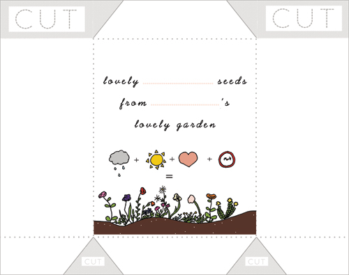 graphic relating to Printable Seed Packets referred to as Harvesting Seeds - Absolutely free seed packet printable - Squirrelly Minds