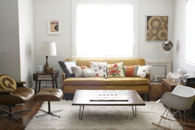 Home | Living Room Mid Century Inspiration