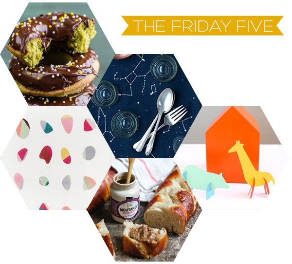 The Friday Five on Squirrelly Minds