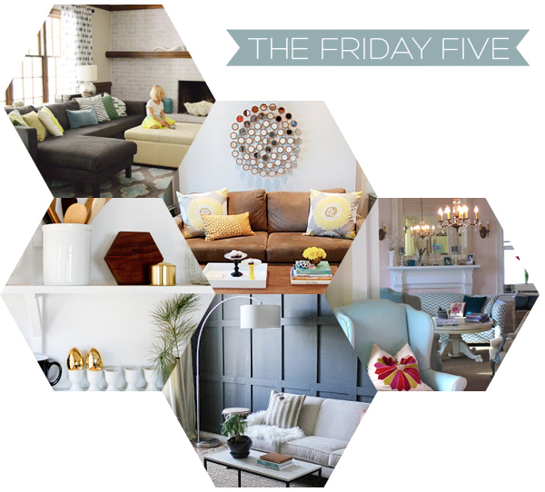 The Friday Five Home Decor Reno Blogs Squirrelly Minds