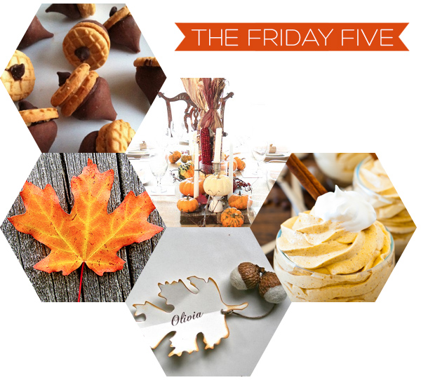 The Friday Five - Thanksgiving on Squirrelly Minds