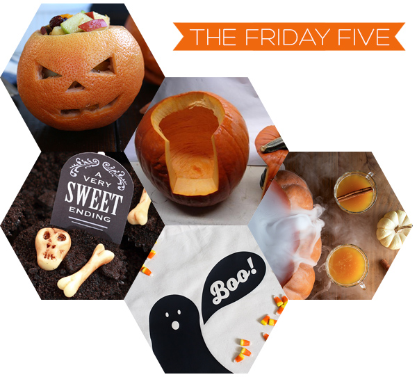 The Friday Five - Halloween on Squirrelly Minds
