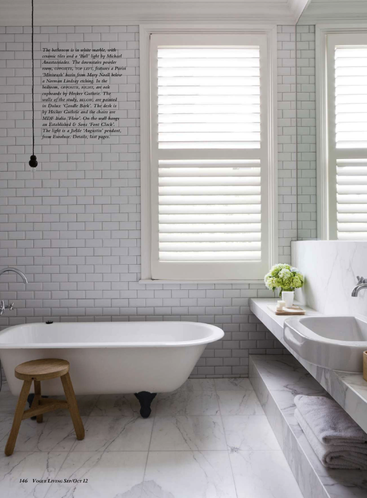 The Bungalow Inspiration Files - Bathroom | Squirrelly Minds