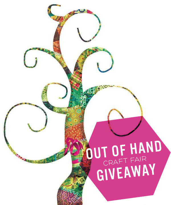 Out of Hand Craft Fair Giveaway on Squirrelly Minds