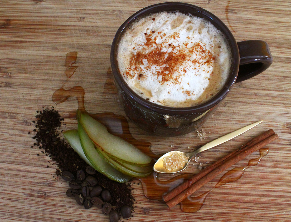 Harvest Pear Latte | Squirrelly Minds