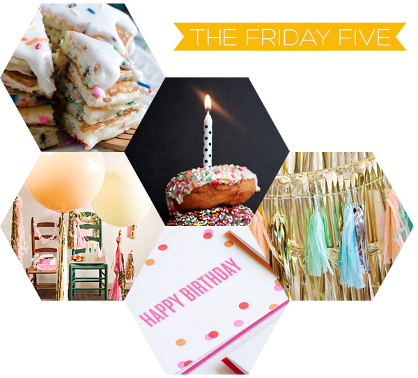 The Friday Five - Birthday on Squirrelly Minds