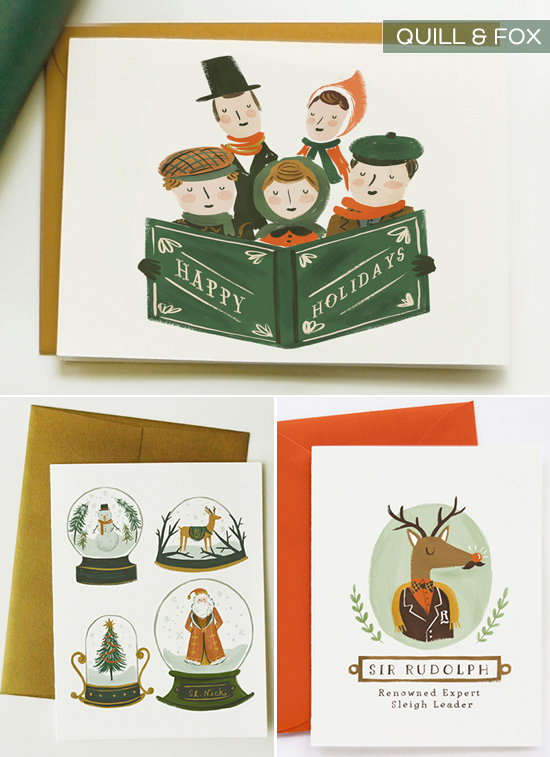 Quill & Fox Christmas Cards