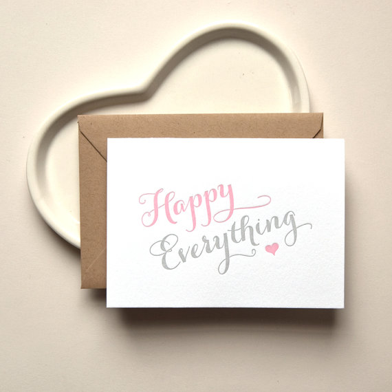 Kimberly Fitzsimmons Wedding Card