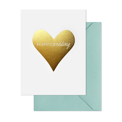 Sugar Paper Wedding Card