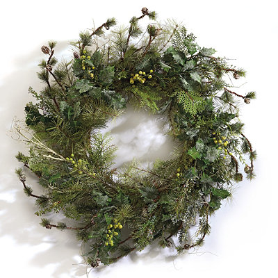 Holiday Wreath by Shenandoah Greenery Collection on Squirrelly Minds
