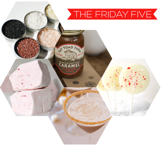 The Friday Five - Gift guide for the foodie on Squirrelly Minds