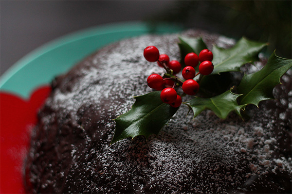 Christmas Ice Cream Cake from Squirrelly Minds