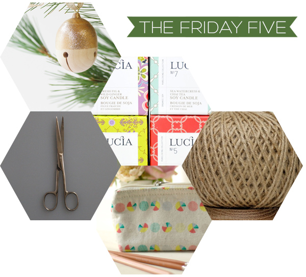 The Friday Five - Stocking Stuffer Ideas