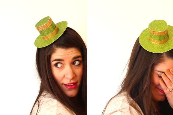 DIY St Patrick's Top Hat | Squirrelly Minds