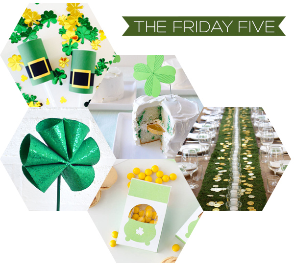 The Friday Five - St Patrick's Day| Squirrelly Minds